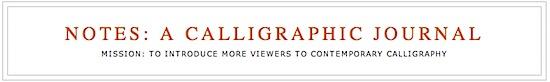 calligraphyjournal