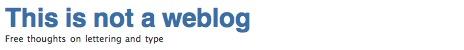 thisisnotawebblog