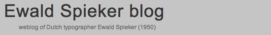ewaldspeikerblog