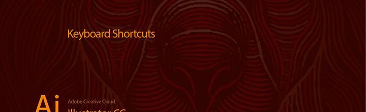 Keyboard Shortcuts Cheat Sheet for Illustrator CC 2014