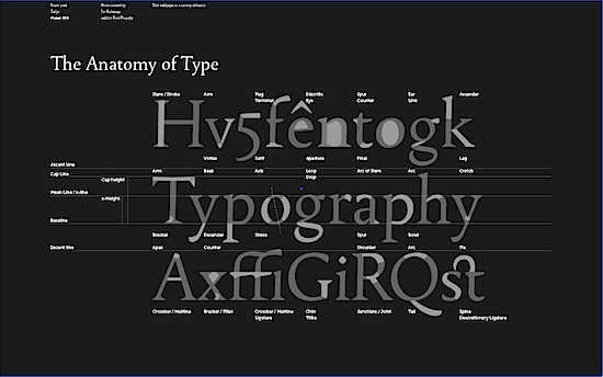 Wallpaper : Font Anatomy | font.is
